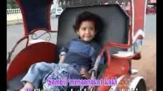 Becak - Lagu Anak-Anak Indonesia Karya Ibu Sud.flv