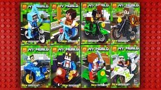 LEGO Minecraft Motorcycles Minifigures (knock-off) LELE 33071