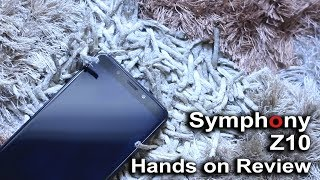Symphony Z10 Hands on Review in Bangla