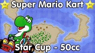 Super Mario Kart! Star Cup - 50cc (Yoshi)