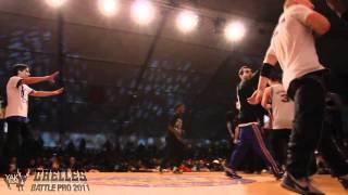 POCKEMON vs BBOY FRANCE Chelles Battle Pro 2011 Crew Battle Semi-Final