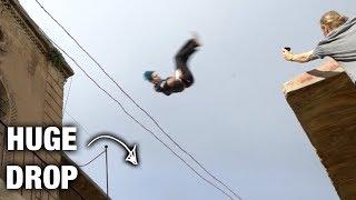 Insane Flip Over Roof Gap In Turkey!! (World