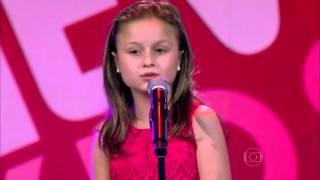 Rafa Gomes canta 'História de Uma Gata' no The Voice Kids - Audições | Temporada 1