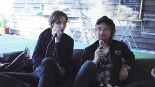 YEWTH | Catfish and the Bottlemen interview (Falls Festival Lorne 2016)
