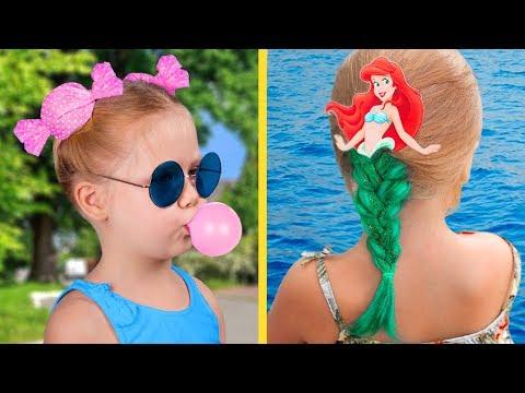 13 милых причёсок для девочек за пару ми� ут