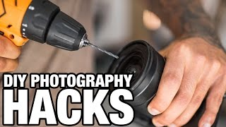 5 GENIUS PHOTOGRAPHY HACKS 📷 DO IT YOURSELF