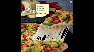 All New Domino's with Softer Crust, Tastier Sauce, More Cheese & Toppings - Dominos India