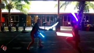 Jedi Training at Tiger Muay Thai