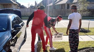 SELLING OUR HOUSE PRANK ON AR'MON AND TREY!!!