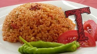 Bulgar Wheat Pilaf Recipe   Bulgur Recipe   Wheat with Tomatoes   Healthy Rice Recipe