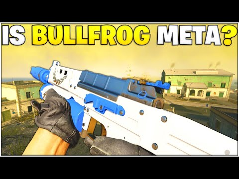 The Bullfrog Is CRAZY GOOD On Alcatraz Best Bullfrog Setup Rebirth Island Warzone