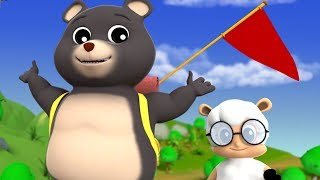 The Bear Went Over The Mountain | Kindergarten Nursery Rhymes For Kids | Cartoon Song by Farmees