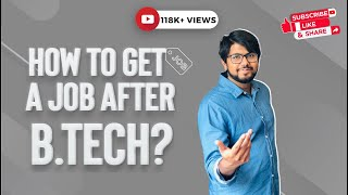 How to get a job after B.Tech ? Aamir Qutub shares engineering job interview experience
