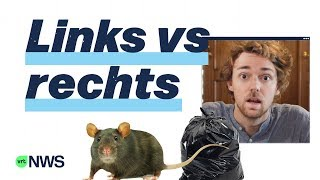 Ben Jij Een Linkse Rat Of Een Rechtse Zak? | VRT NLS #01