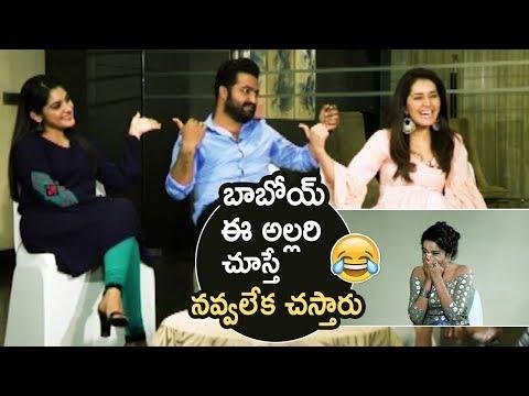 Xxx Mp4 Jr NTR Making Super Hilarious Fun With Nivetha Thomas And Raashi Khanna Jai Lava Kusa TFPC 3gp Sex