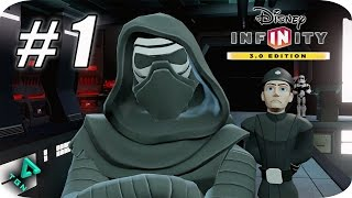 Disney Infinity 3.0 - Star Wars The Force Awakens - Gameplay Español - Capitulo 1 - 1080pHD
