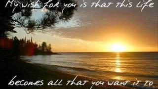Rascal Flatts - My Wish (Lyrics On Screen)