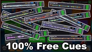 How To Get 100% Free Cues In 8 Ball Pool