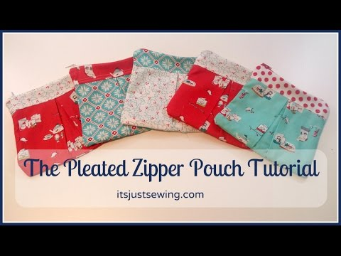 eac627714c09 How To Make A Pleated Zipper Pouch - The Most Popular High Quality Videos -  Download YouTube Videos