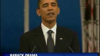 Obama defends war at Nobel Peace Prize ceremony
