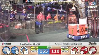 Qual 63 - 2017 Greater Pittsburgh Regional