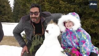 Ajay Devgn   Shivaay   Behind the Scene   Fun Day