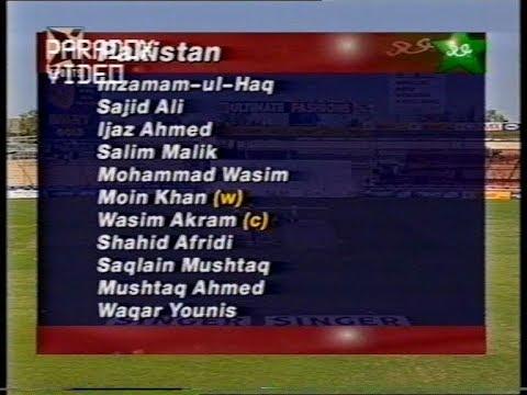 MATCH HIGHLIGHTS Pakistan 51 7 & still WON the Match Zimbabwe Vs Pakistan 1997