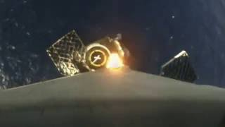 First-stage landing | Onboard camera