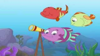 Panchatantra Tales in Marathi - A Tale of Three Fish
