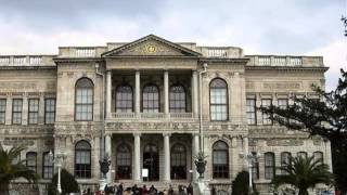Dolmabahçe Palace Historical Places in Istanbul
