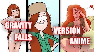 Gravity Falls Al Estilo Anime - JEGA Toons