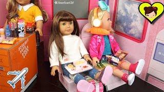 Avion y Aeropuerto de Muñecas American Girl - Juguetes de Titi