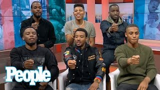 The New Edition Story: Cast On Working With The Iconic Band | People NOW | People