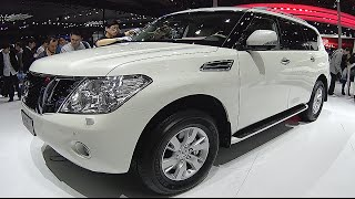 New Nissan Patrol 2016, 2017,  interior, exterior, video review