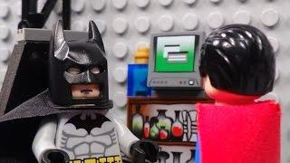 Lego Batman and Superman Team Up