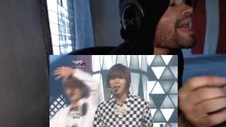 shinee sherlock clue  note  strangerkbs music bank20120323 reaction
