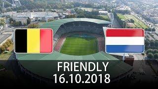 Belgium vs Netherlands - International Friendly - PES 2019