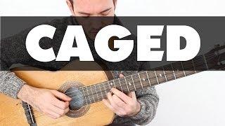 Domina todo el mástil utilizando solo 5 acordes: CAGED Guitarra