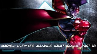 Marvel: Ultimate Alliance PS4 Walkthrough Part  18