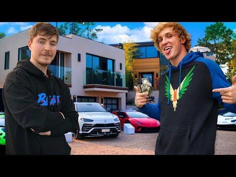 10 Richest YouTubers of 2019 Logan Paul MrBeast PewDiePie David Dobrik