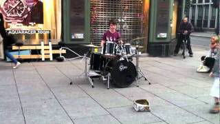Amazing Drum Solo In The Street