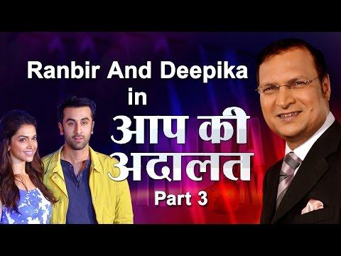 Xxx Mp4 Ranbir Kapoor With Deepika Padukone In Aap Ki Adalat Part 3 India TV 3gp Sex