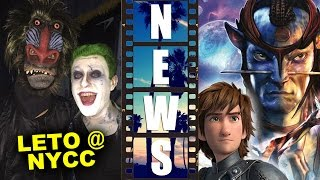 Jared Leto's Joker at NYCC 2015, Dark Horse Avatar Comics & HTTYD 2 - Beyond The Trailer