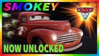 Cars 3 Driven to Win - gameplay - Smokey