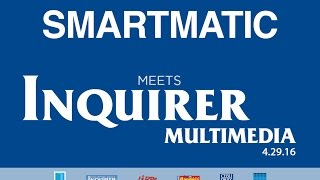 Smartmatic meets Inquirer Multimedia: Vote Counting Machine Demo