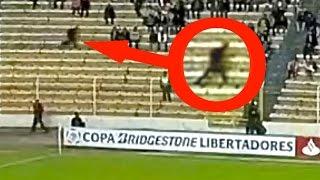 5 Fantasmas En Partidos De Fútbol - Captados En Cámara