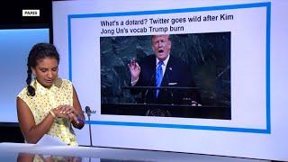 War of unknown words: Kim Jong-un calls Trump a