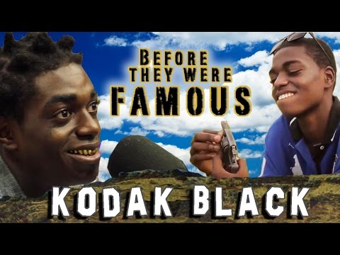 KODAK BLACK - Before They Were Famous