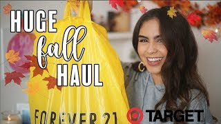 Huge Fall Try On Haul! Forever 21, Target, Ross + More | Jessica MacCleary ♡