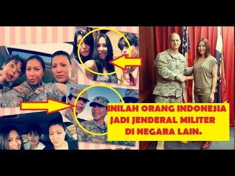 Orang Indonesia Jadi Tentara Negara Lain ada Jadi JENDERAL Bintang Satu Militer Indonesia hut tni